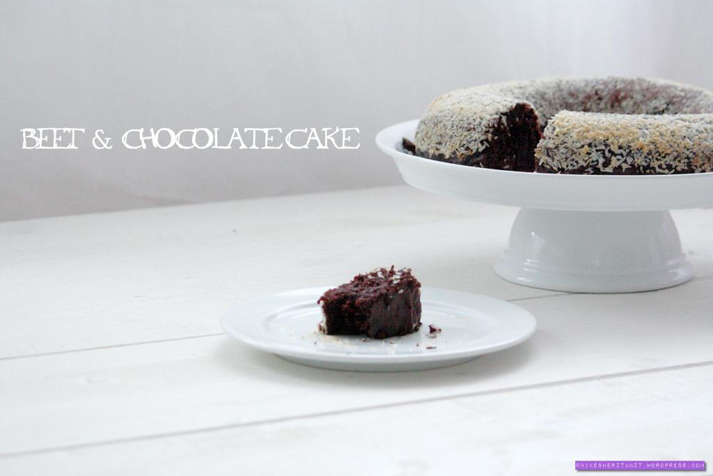 beet & chocolate cake