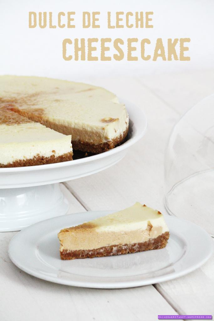 dulce de leche cheesecake, karamell, käsekuchen, kuchen, sonntagssüß, food, blog, nikesherztanzt