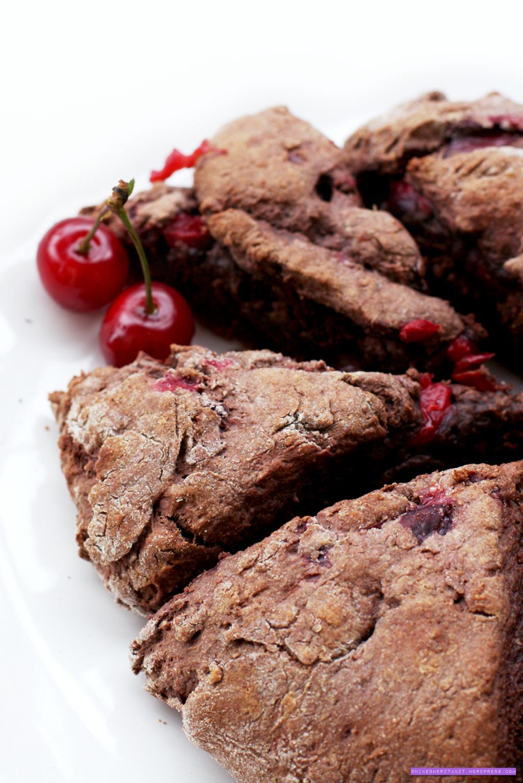 schoko-kirsch-scones