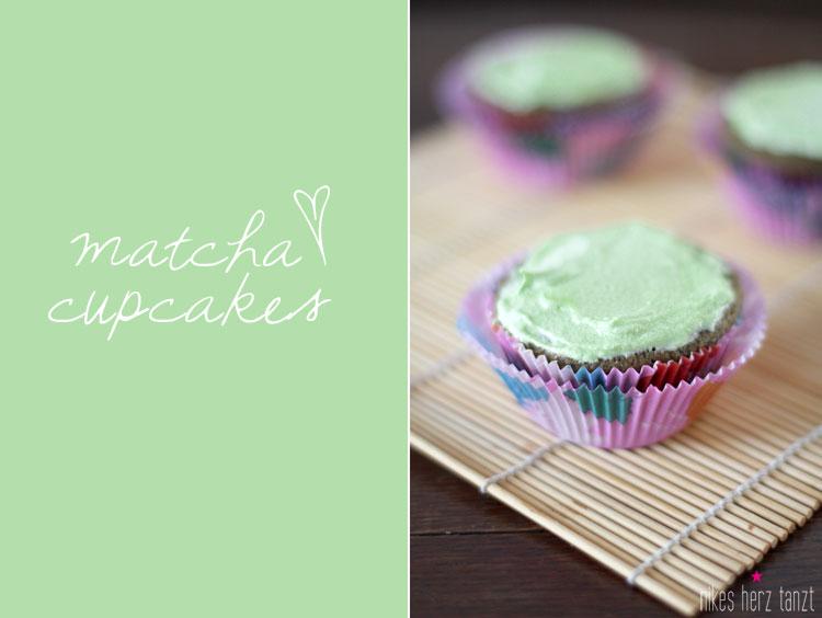matcha cupcakes.