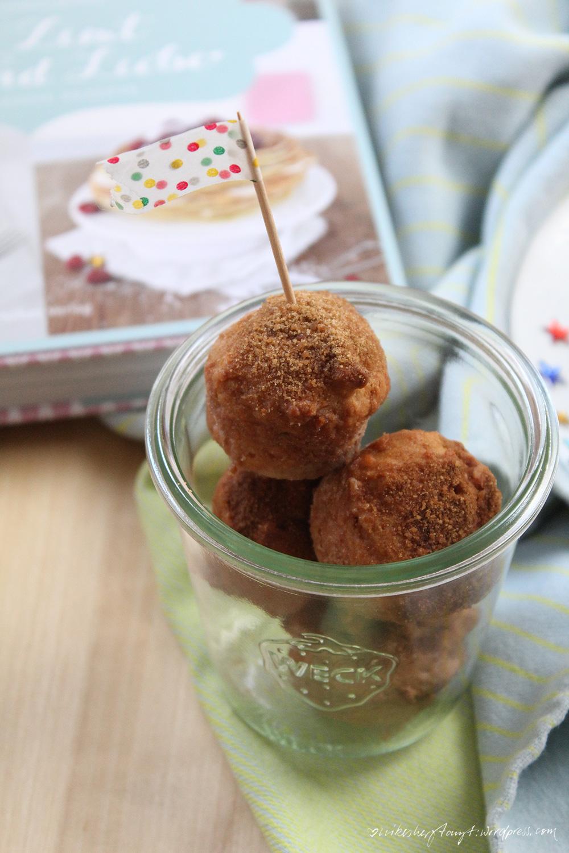 süßkartoffelküchlein mit zucker-zimt- und liebe-kruste. // https://nikesherztanzt.de