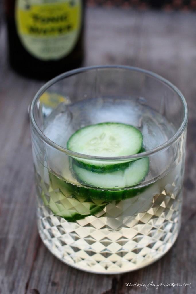 weißer portwein, tonic, water, gurke, eiswürfel, portonic, longdrink, http://nikesherztanzt.de/