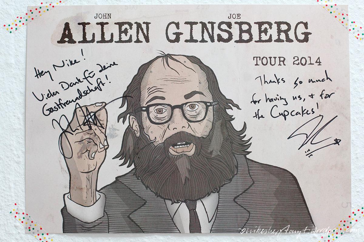 john allen, joe ginsberg, allenginsbergtour,2014