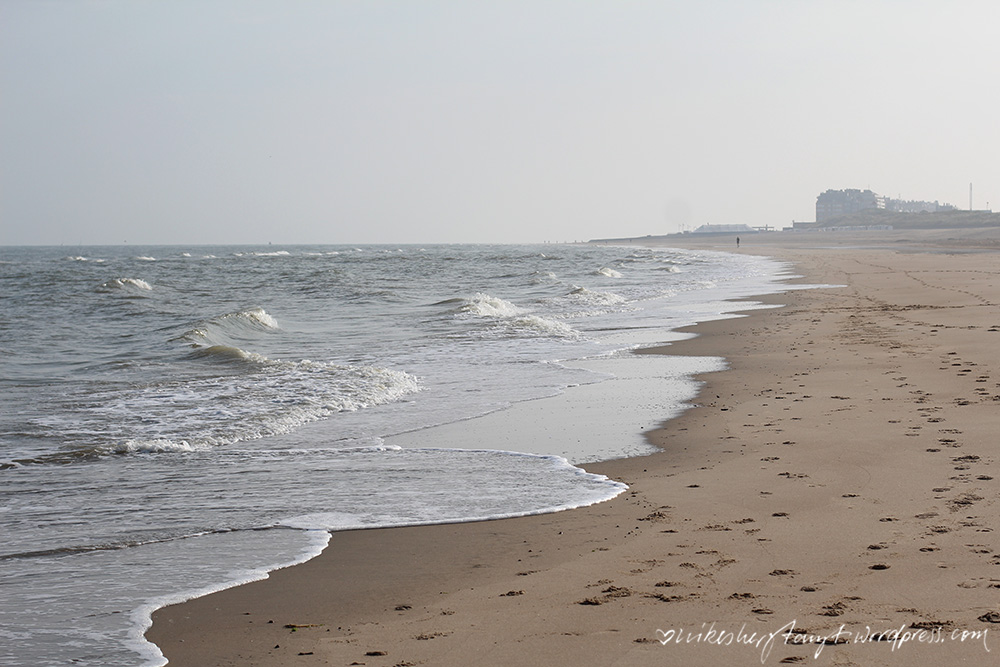 life is good at the beach, nike am meer, am strand von de haan, nordsee, belgien, geburtstag