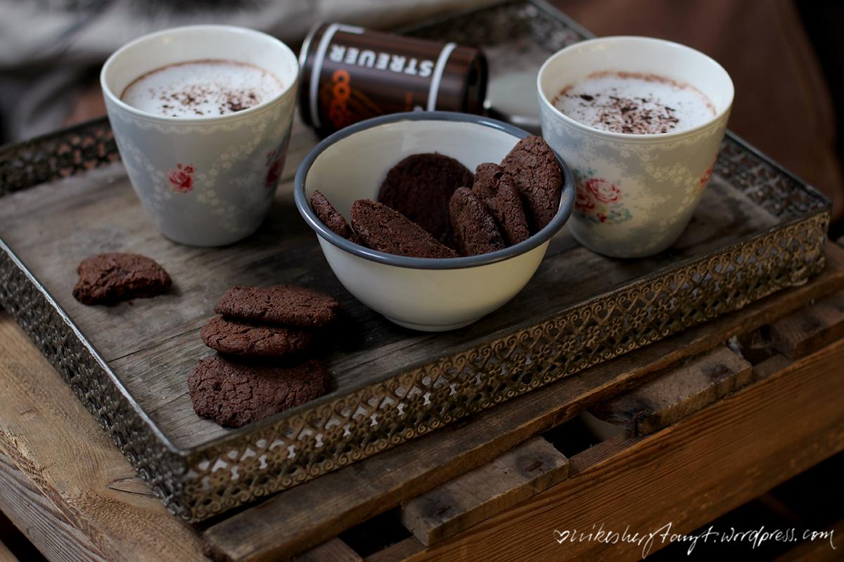 schokoladenplätzchen, becks cocoa, hot winter, kakao, plätzchen, schokolade, advent, backen, vegan, streuer,glutenfrei, nikesherztanzt