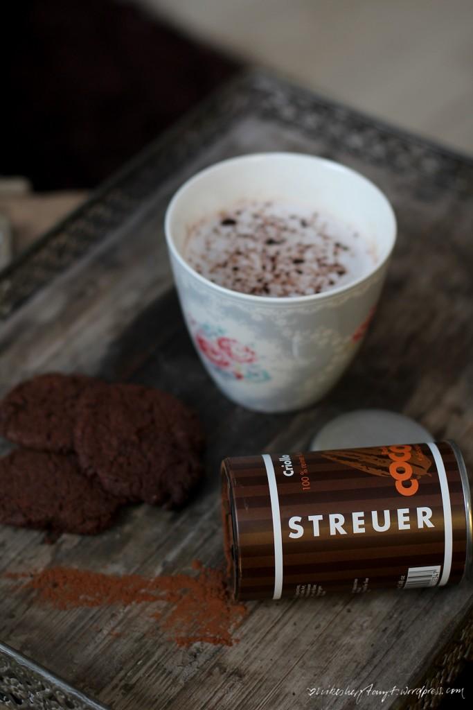 becks cocoa, hot winter, kakao, plätzchen, schokolade, advent, backen, vegan, streuer,glutenfrei, nikesherztanzt