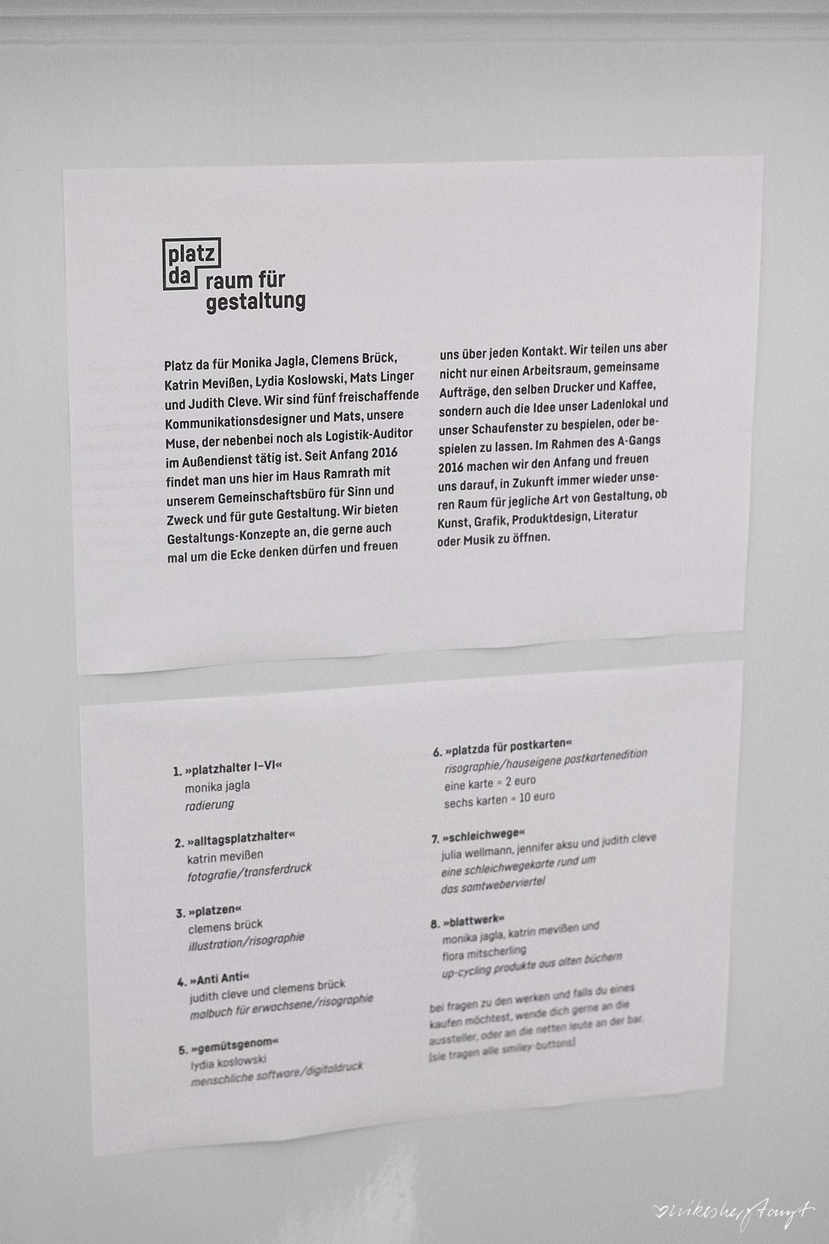 platzhalter, krefeld, ausstellung, #nikeskrefeld, blattwerk, westwall, kunst, design, haus ramrath, platz da, gestaltung, blog, nikesherztanzt