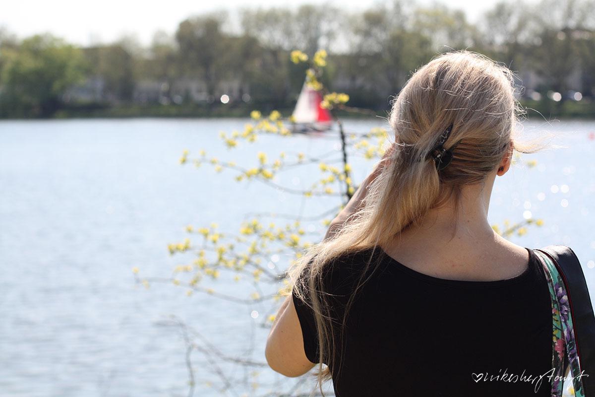 katharina von so nah und so fern fotografiert segelboote am aasee in münster