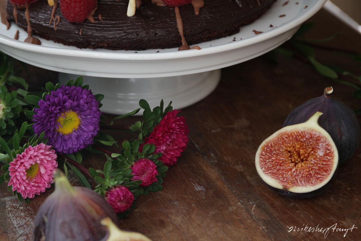schokoladenkuchen, der schokoladigste, irgendwas mit schokolade, choc choc, nikesherztanzt, food, blog