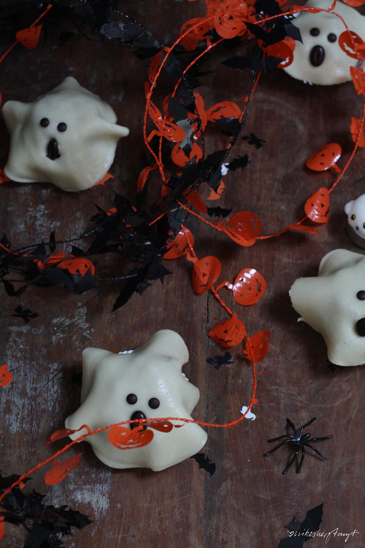 halloween, geister, apfel,kürbis,muffins, vegan, food,blog,nikesherztanzt