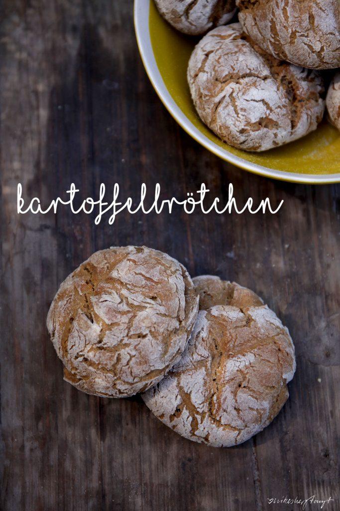 Rezept für Kartoffelbrötchen, vegan // nikesherztanzt