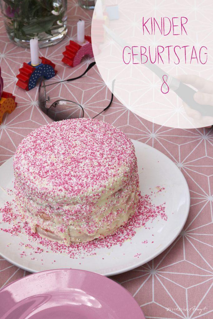kinder, geburtstag, kuchen, rosa, vegan, perlen, ombre, blog, nikesherztanzt