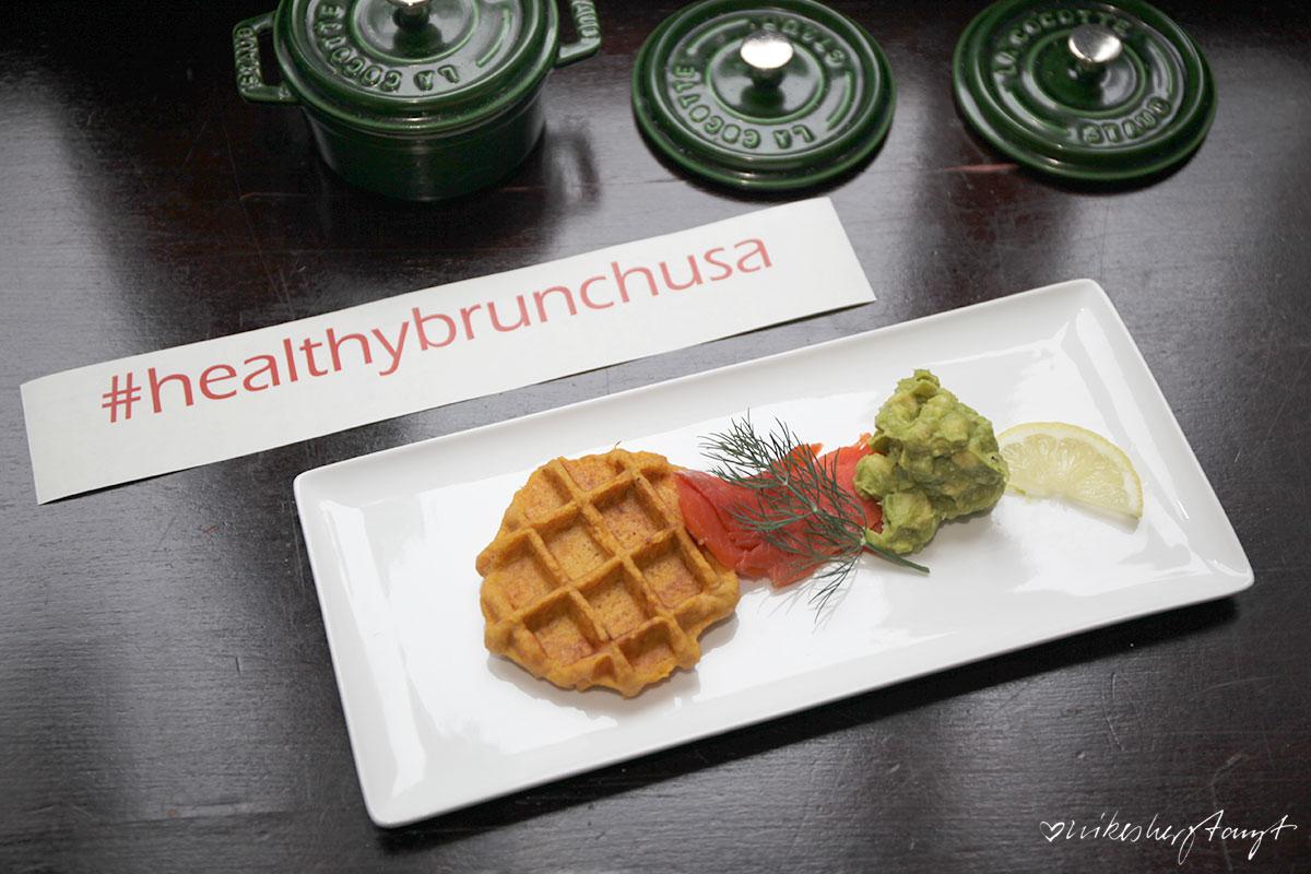 #healthybrunchusa in der kochschule im medienhafen in düsseldorf // nikesherztanzt