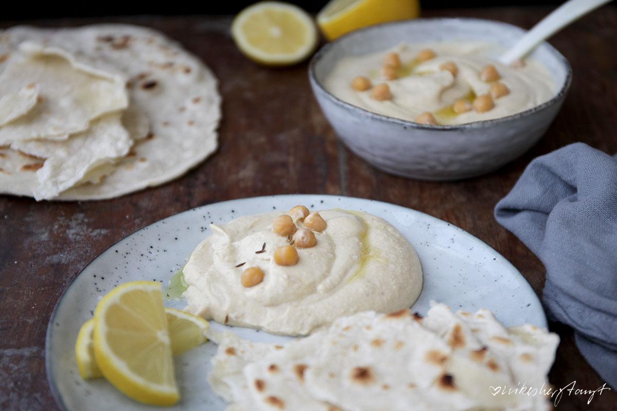 homemade hummus mit tortilla wraps // nikesherztanzt