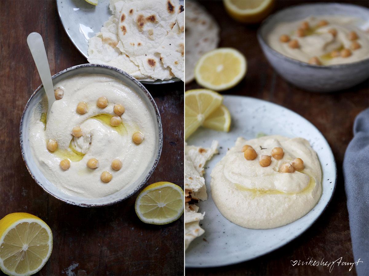 hummus homemade mit tortilla wraps // nikesherztanzt
