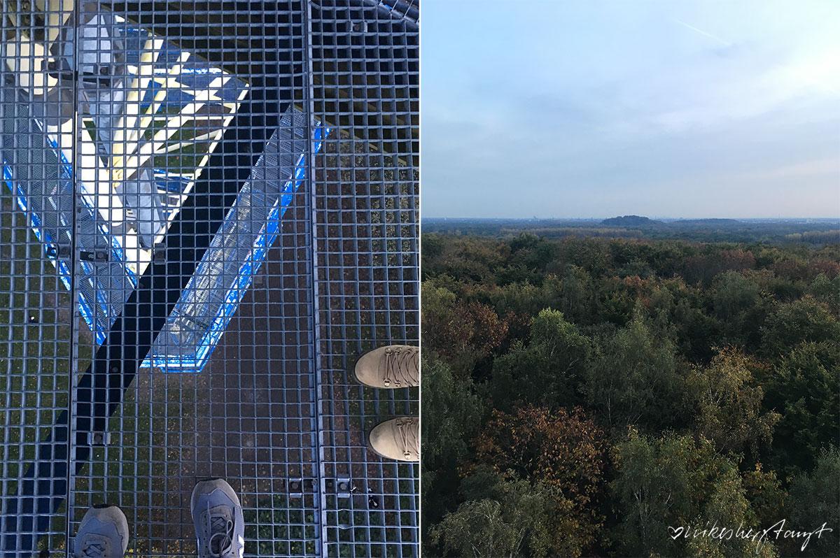 glücksorte am niederrhein - der johannesturm auf dem hülser berg krefeld. // nikesherztanzt