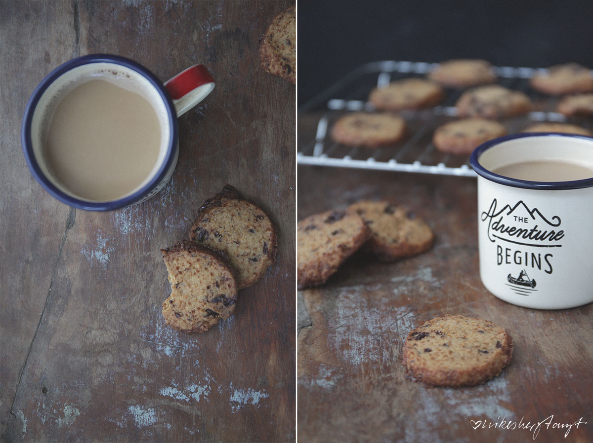 Salted Butter Chocolate Chunk Shortbread Cookies, Schokoladen Kekse, mit Rauchsalz, vegan, sonntagssüß, nikesherztanzt