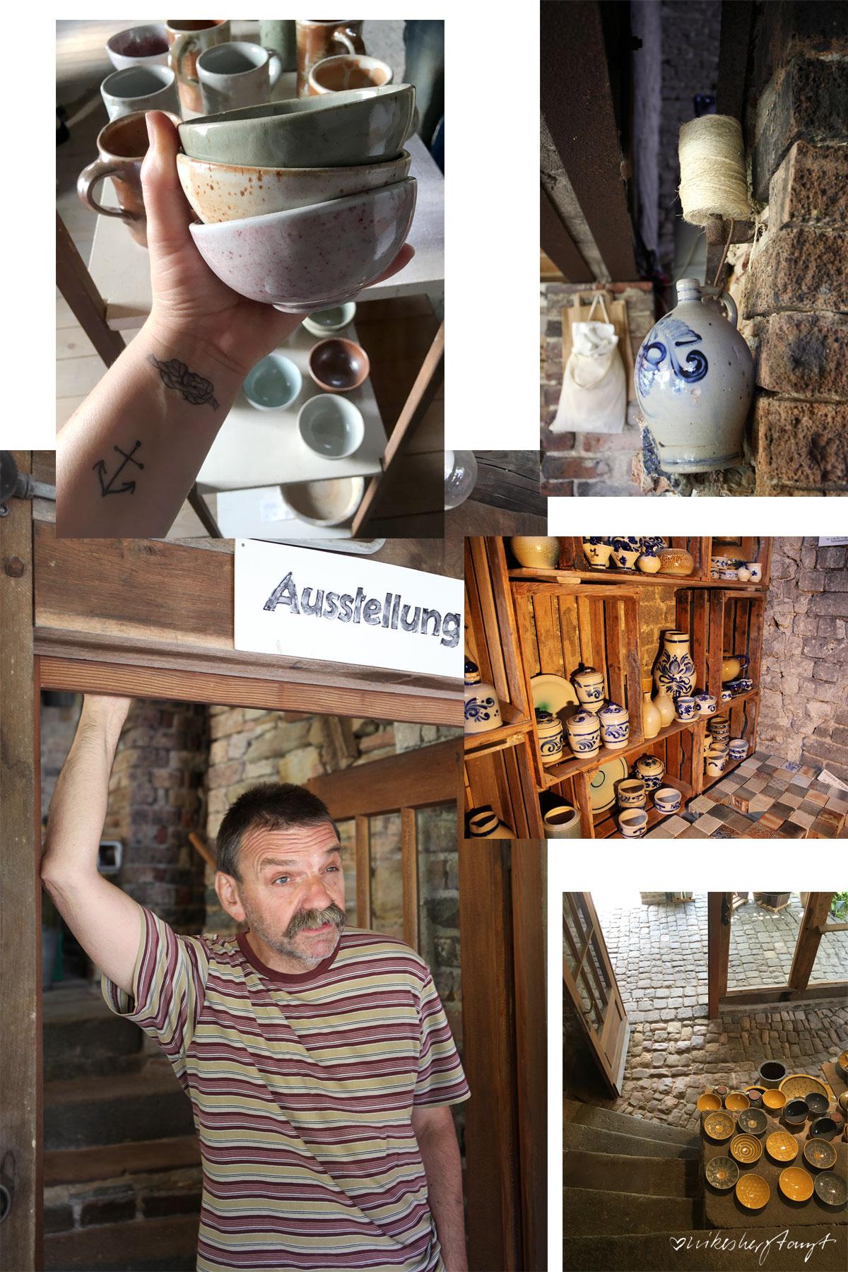#visitkeramik - keramik im kannenbäckerland // nikesherztanzt, keramikwerkstatt, böhmer, höhr-grenzhausen, westerwald