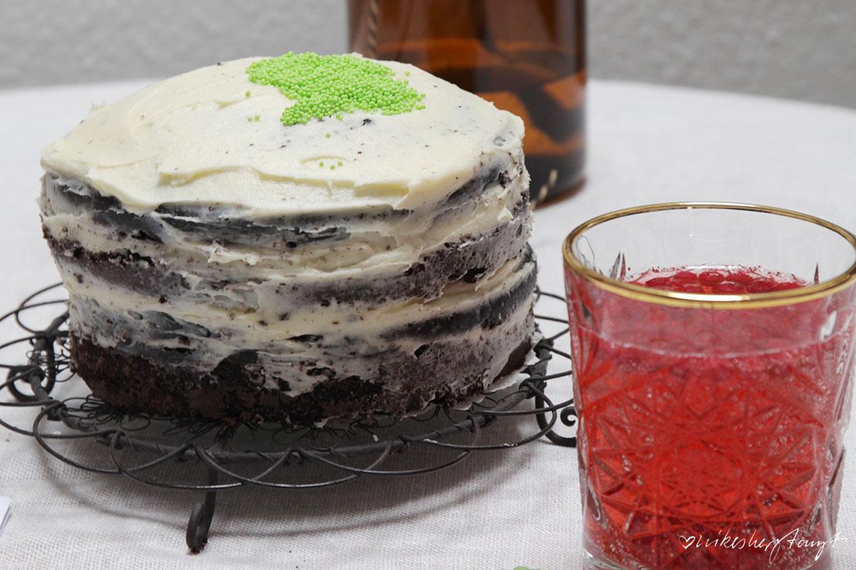 veganer guinness cake, guinness, kuchen,