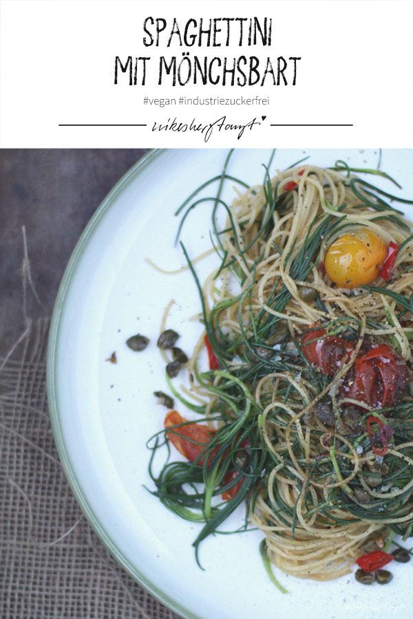 mönchsbart und spaghettini // nikesherztanzt
