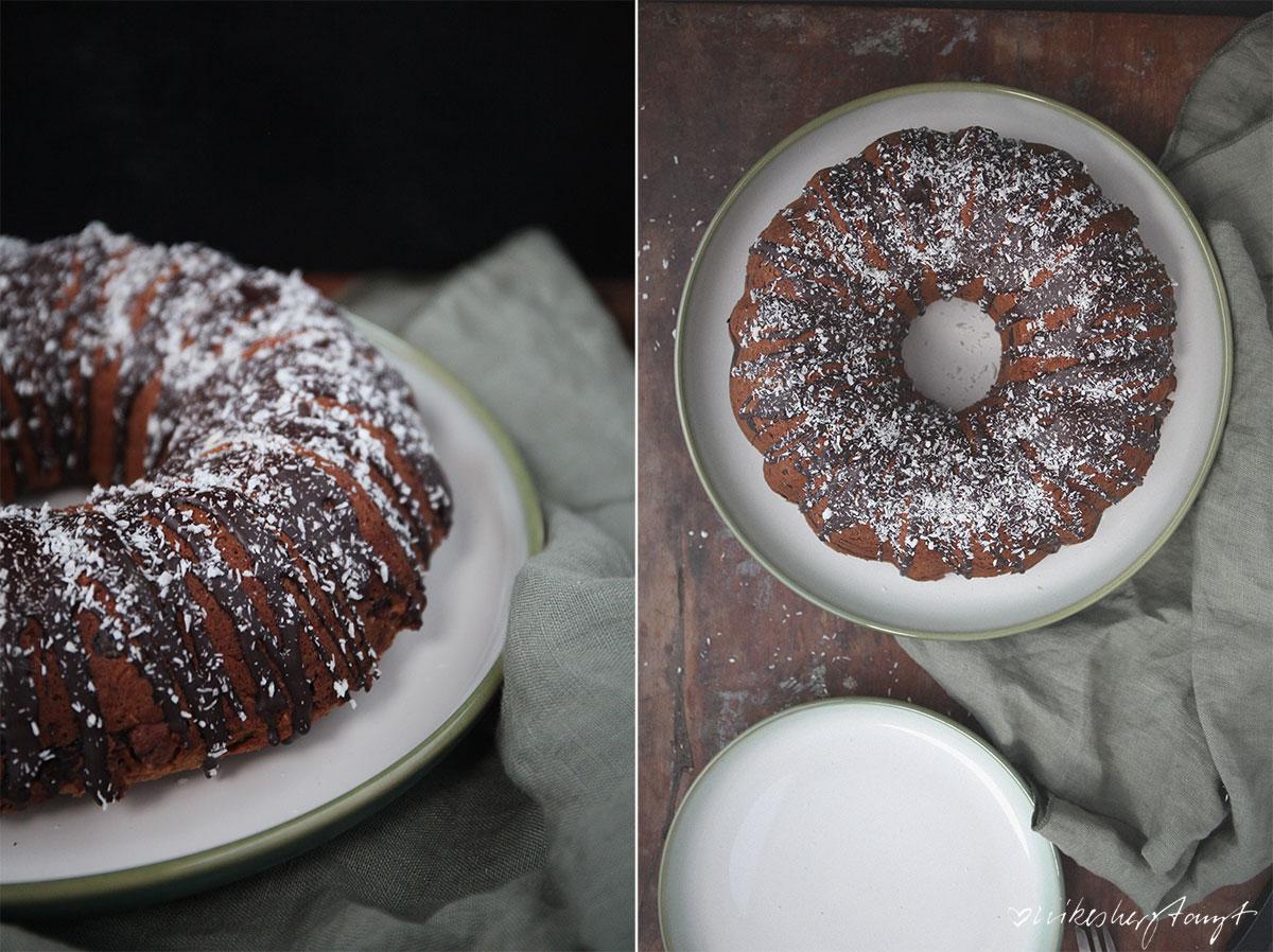 kokosjoghurt-schoko-guglhupf. // nikesherztanzt