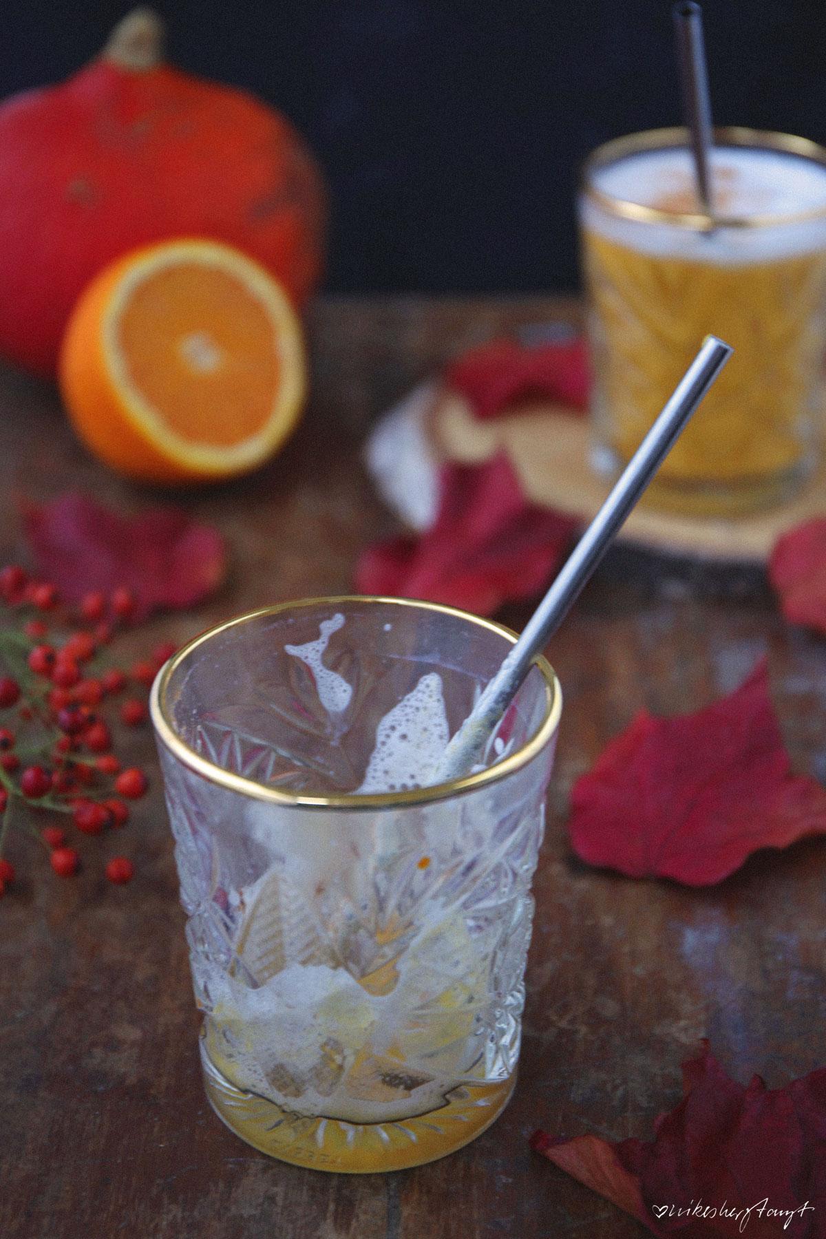pumpkin pie smoothie // nikesherztanzt