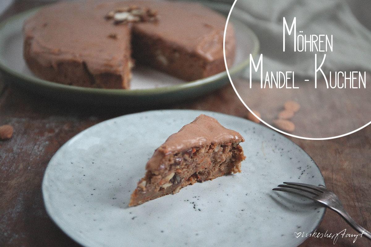 veganer Möhren-Mandelkuchen // nikesherztanzt
