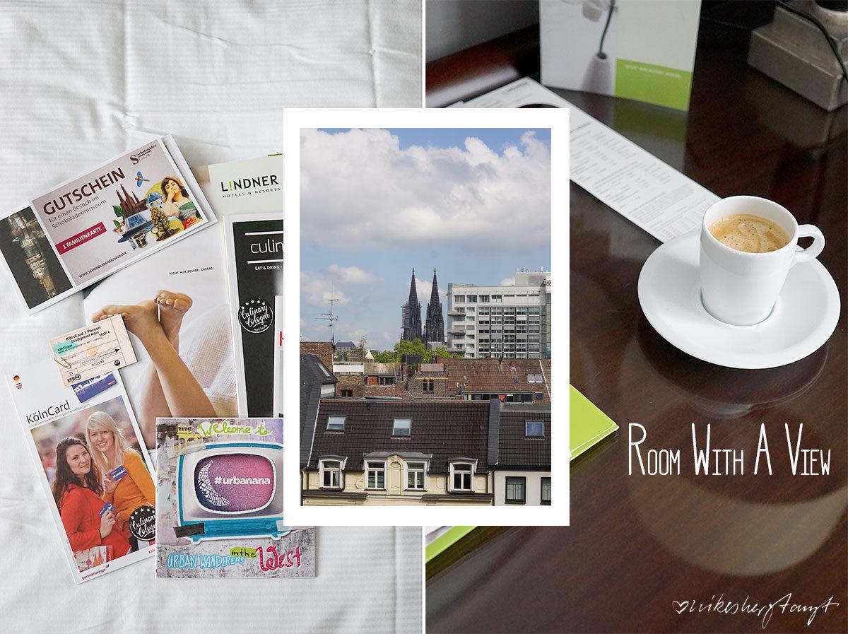 Ein Wochenende im Lindner Hotel City Plaza Köln - Hey Kölle Do bes en Jeföhl // nikesherztanzt