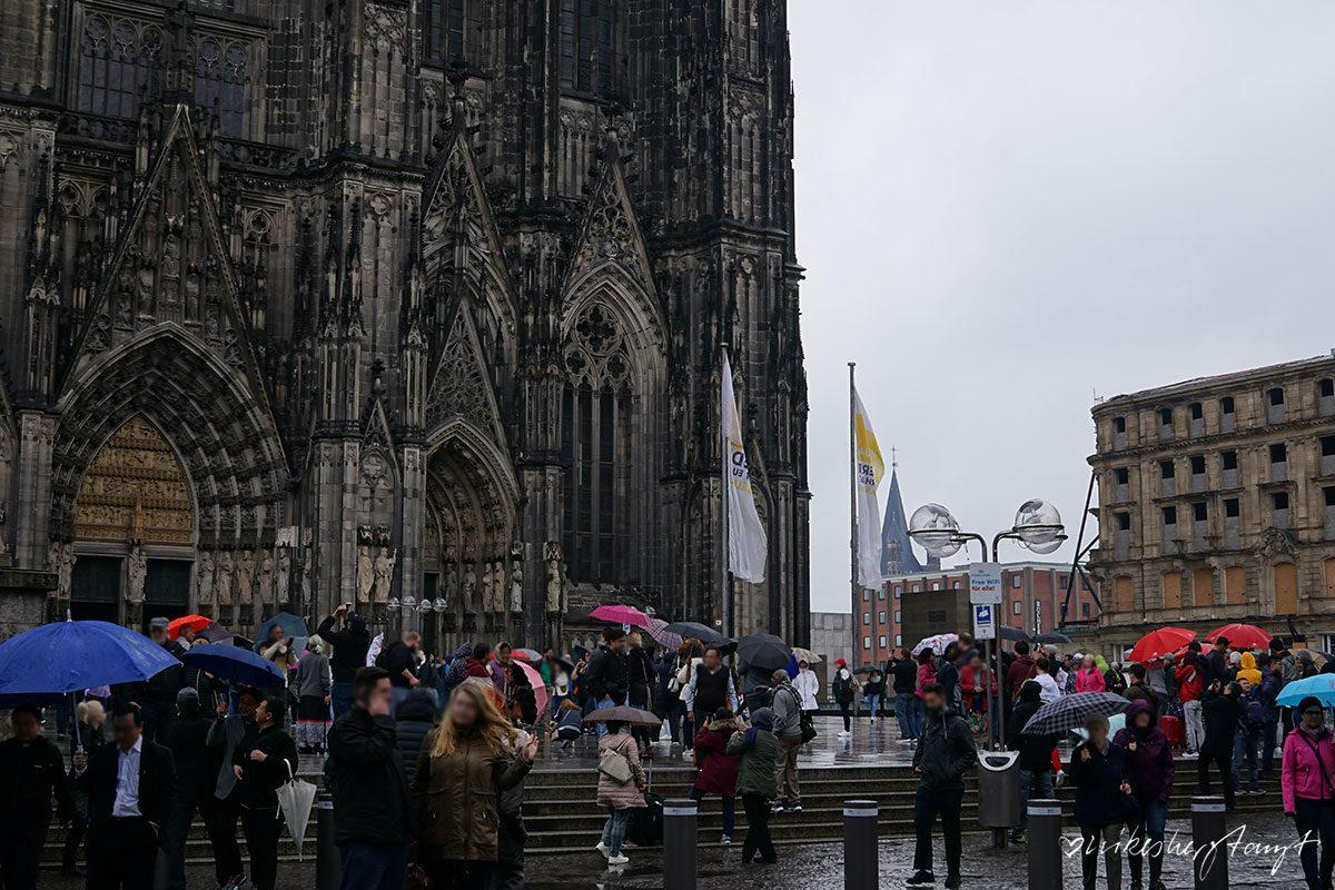 Domplatte in Köln