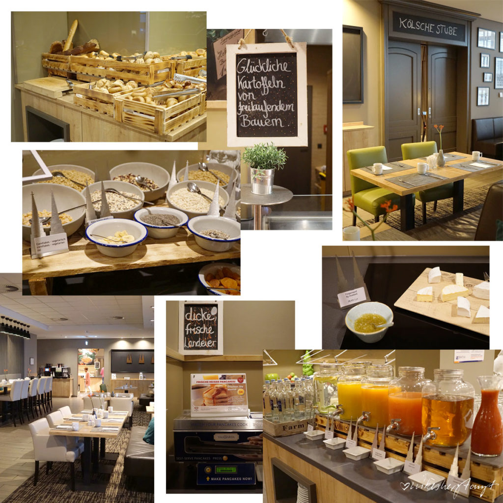 Frühstücksbuffet im Lindner Hotel City Plaza Köln - Hey Kölle Do bes en Jeföhl // nikesherztanzt