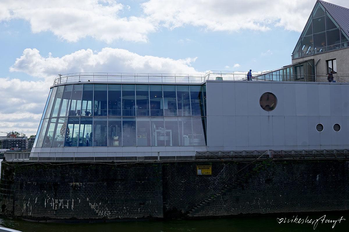 Das Schokoladenmuseum am Kölner Rehinufer